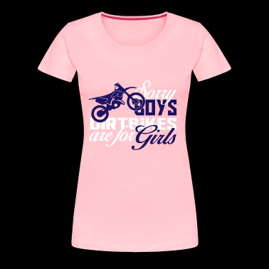 Girls Dirt Bike Shirt - Women's Premium T-Shirt