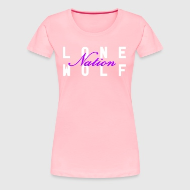 Pink Nation Logo - Women's Premium T-Shirt