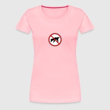 Dog no peeing! - Women's Premium T-Shirt