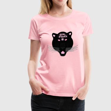 Black Pantheress - Women's Premium T-Shirt