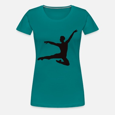 Teens Dance Gymnastics Men Boy Teens Ballet T-shirts - Women's Premium T-Shirt