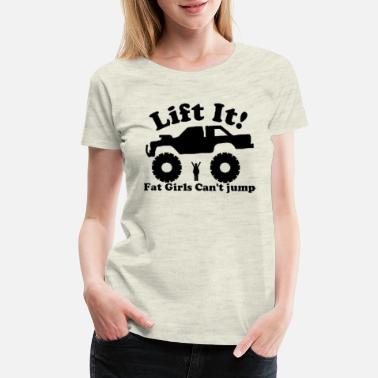 Lifted lifted truck - Women's Premium T-Shirt