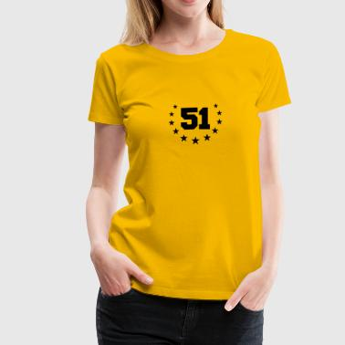 Number 51 Design - Women's Premium T-Shirt