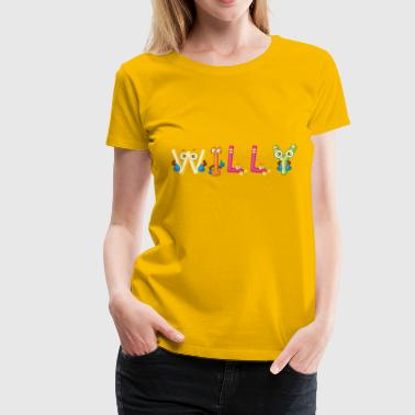 Willy - Women's Premium T-Shirt