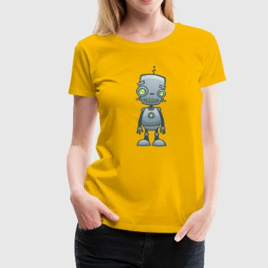 Silly Robot - Women's Premium T-Shirt