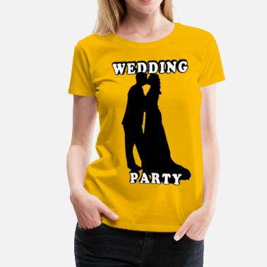 Wedding Rehearsal Wedding Party - Women's Premium T-Shirt