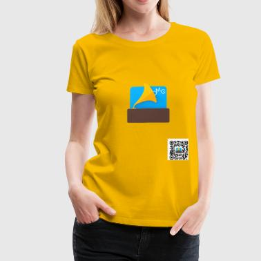 OMGSoundboard (QR version) - Women's Premium T-Shirt