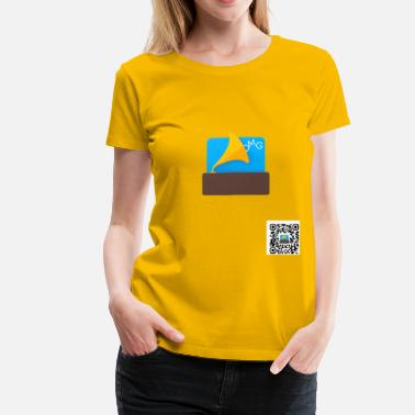 Soundboard OMGSoundboard (QR version) - Women's Premium T-Shirt