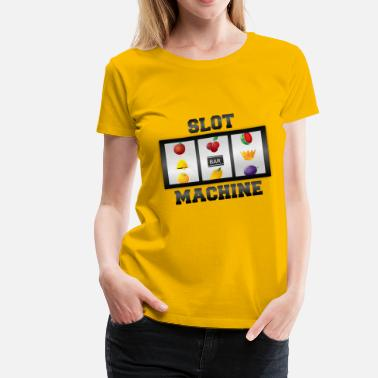 Slot-machines Slot Machine - Women's Premium T-Shirt