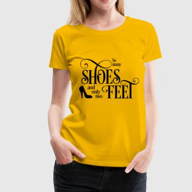 Shoe shoes - Women's Premium T-Shirt