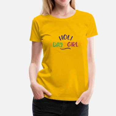 Holiday holiday girl - Women's Premium T-Shirt