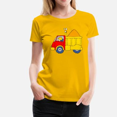 Lorries Lorry Truck - Women's Premium T-Shirt