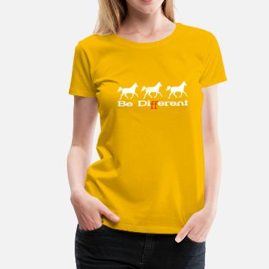 Sayings Appaloosa Be Different - Appaloosa - Women's Premium T-Shirt