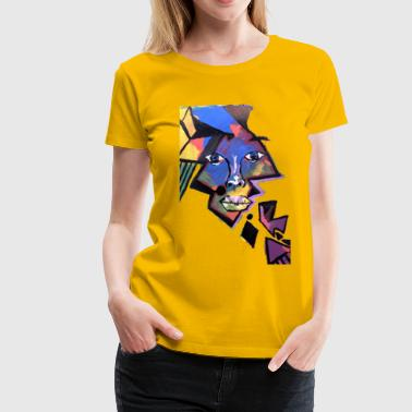 Face Me Artwork - Women's Premium T-Shirt