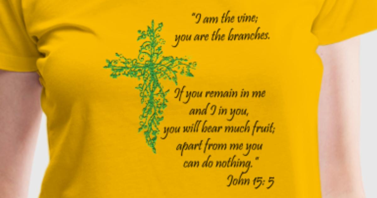 John 155 I Am The Vine By Stmartndesign