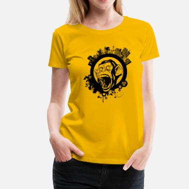 Urban Urban Monkey - Women's Premium T-Shirt