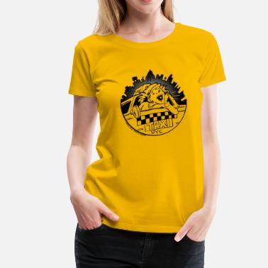 Cab Taxi Girl - Women's Premium T-Shirt