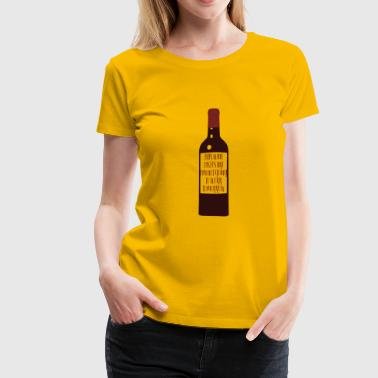 Wine Tasting This Wine Tastes Like I'm Not Going To Work - Women's Premium T-Shirt