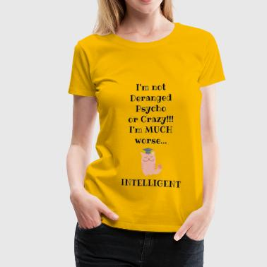 Intelligent cat - Women's Premium T-Shirt
