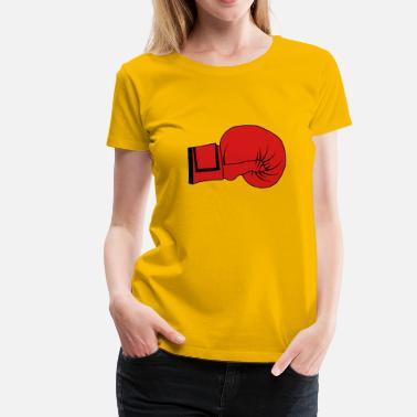 Boxing Glove Boxing Gloves - Women's Premium T-Shirt