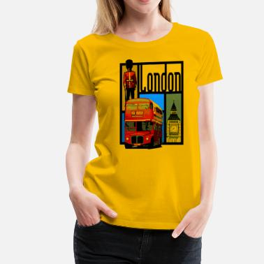 London Souvenir London - Women's Premium T-Shirt