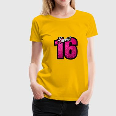 sweet sixteen birthday - Women's Premium T-Shirt