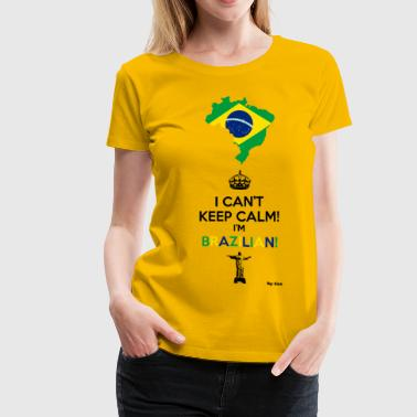 Brazilian - Women's Premium T-Shirt