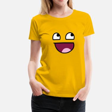 Awesome Face Awesome Face - Women's Premium T-Shirt