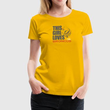 this girl loves - Women's Premium T-Shirt