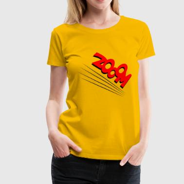 zoom - Women's Premium T-Shirt