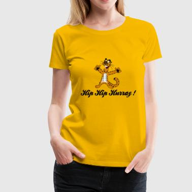 hip hip hurray - Women's Premium T-Shirt