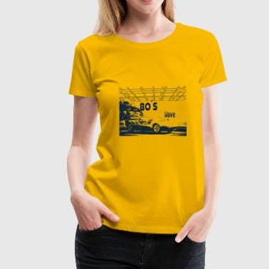 1981 80s Car - 80´s Wave - Women's Premium T-Shirt