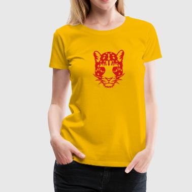 panther wild animal animals in 1102 - Women's Premium T-Shirt