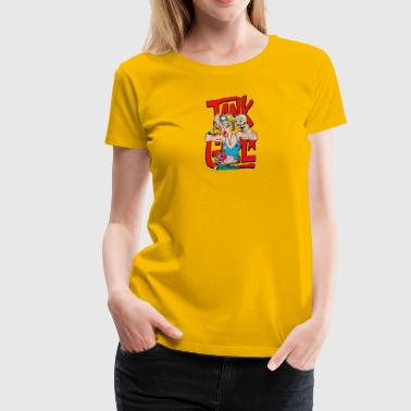 Comics Girl ANK GIRL COMICS - Women's Premium T-Shirt