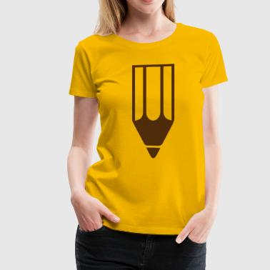 Pencil - Women's Premium T-Shirt