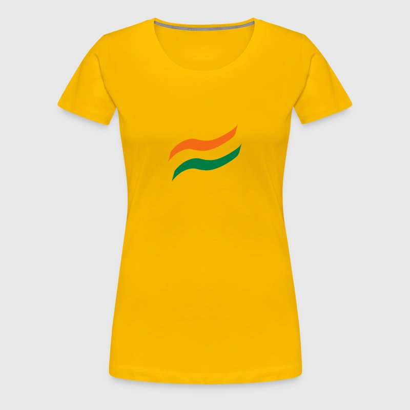 India Flag - Women's Premium T-Shirt