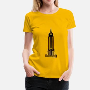 Free State Empire State Building - Women's Premium T-Shirt