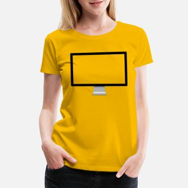 Monitoring Monitor - Women's Premium T-Shirt