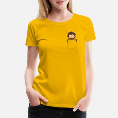 Pocket Sasquatch - Women's Premium T-Shirt
