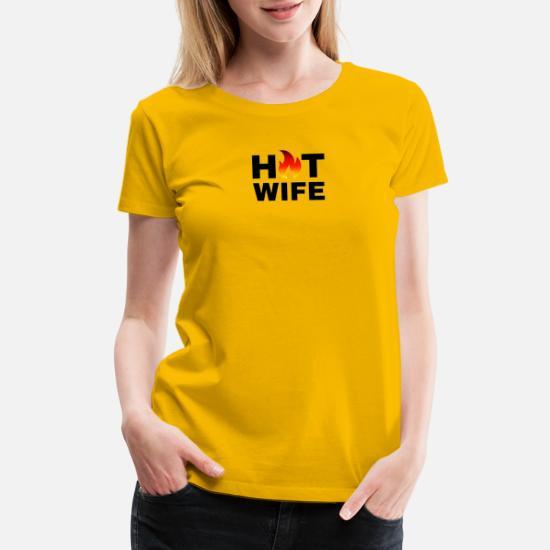 Hot Wife Apparel Design Women's Premium T-Shirt | Spreadshirt