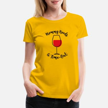 Mothers Day Navel Female T-Shirt