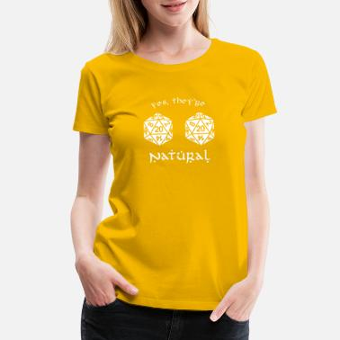 Dungeons And Dragons D20 - Dungeon and Dragons - Women's Premium T-Shirt
