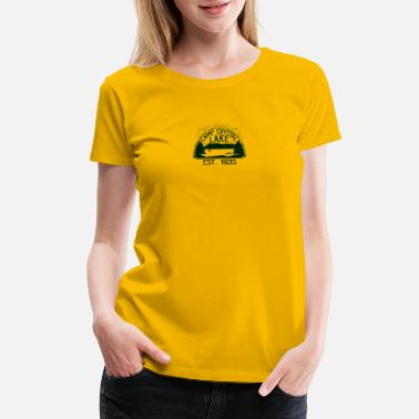 Camp Crystal Lake Outdoor Camp Crystal Lake - Women's Premium T-Shirt