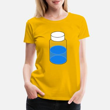 Vial Sample Vial 20ml Blue - Women's Premium T-Shirt