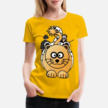 Big Stars LION female - Women's Premium T-Shirt