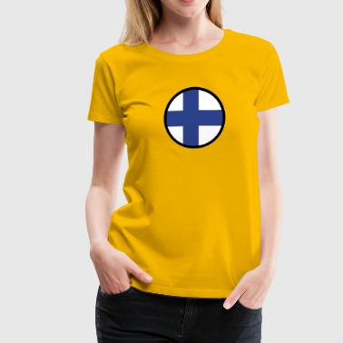 Under The Sign Of Finland - Women's Premium T-Shirt