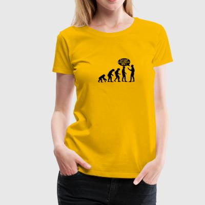 Stop following me! - Women's Premium T-Shirt