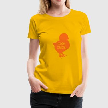 Cute Chick - Women's Premium T-Shirt