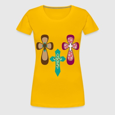 Ornamental Crosses - Women's Premium T-Shirt