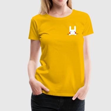 Pocket Bunny - Women's Premium T-Shirt